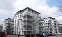 5 Wohnhäuser mit 90 Wohneinheiten und Tiefgarage, Mannheim