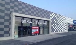 Umbau eines Fachmarktzentrums, Mülheim-Kärlich